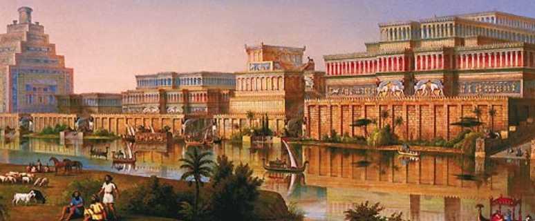 Древний город Ниневия столица Ассирии