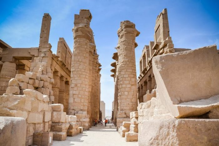 Карнакский храмовый комплекс, Луксор, Египет.